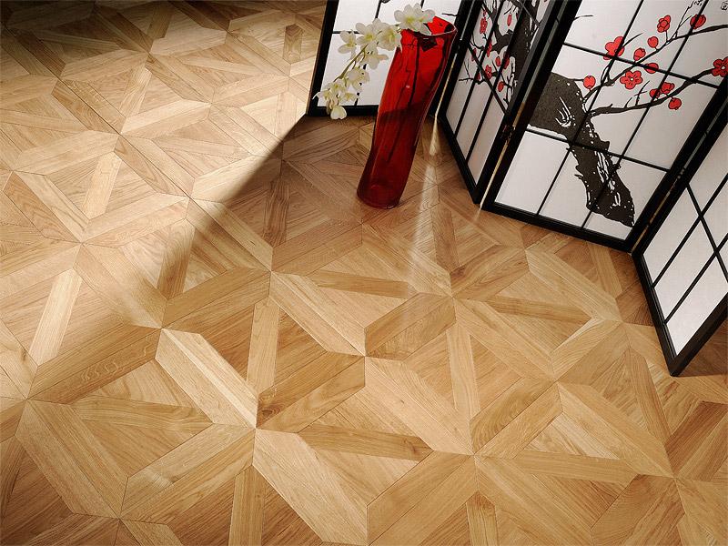 Геометричните фигури превземат подовите настилки през 2016
